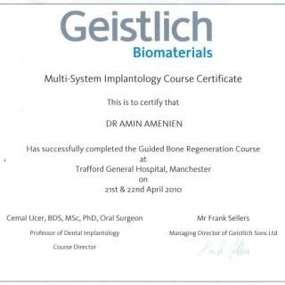 12 Dr Amin Amenien Geistlisch Biomaterial 2010