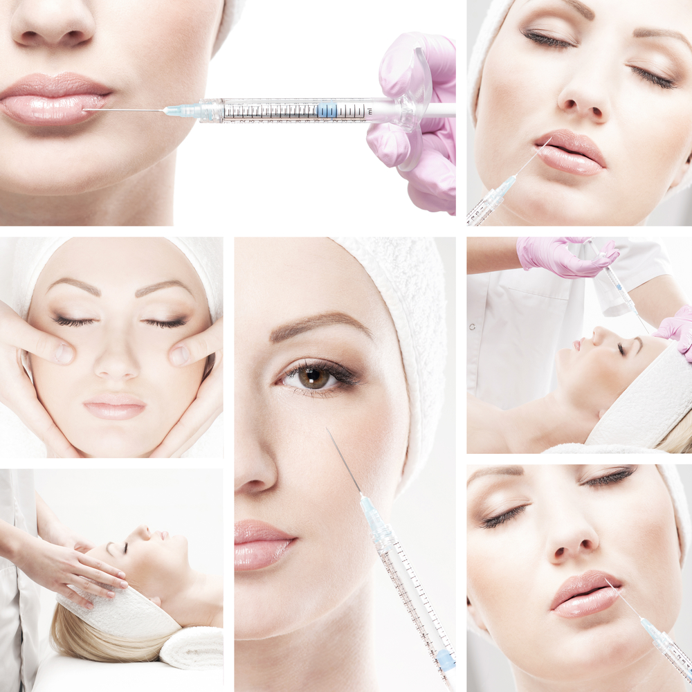 Botox and dermal filler treatments for younger looking skin